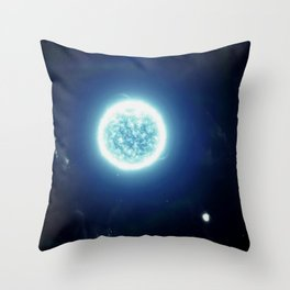 A distant Solar System Throw Pillow