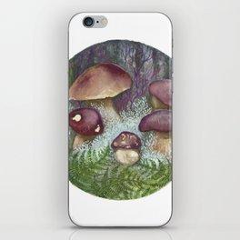 Porcini Mushrooms iPhone Skin