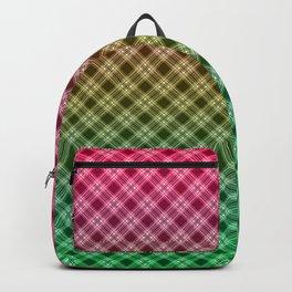 Ombre plaid #plaid #Ombre #gradient Backpack