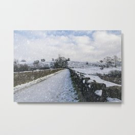 Hollingworth Country Park Metal Print