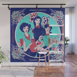 Women Artists (Creative Outlaws) Wall Mural