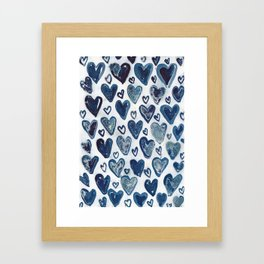 Hearts aplenty. Framed Art Print
