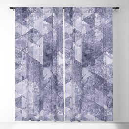 Abstract Geometric Background #26 Blackout Curtain