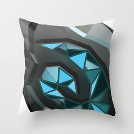 Home is where the hearth is. Throw Pillow