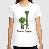 boyfriend T-shirts featuring Broccolini Boyfriend by khalan