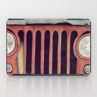 jeep iPad Cases featuring Jeep by Shannon Rutherford