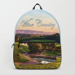 Wine County - McLaren Vale, South Australia Backpack