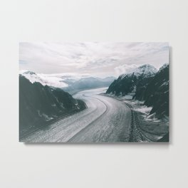 Glacier Highway Metal Print