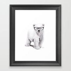 Polar Disorder Framed Art Print