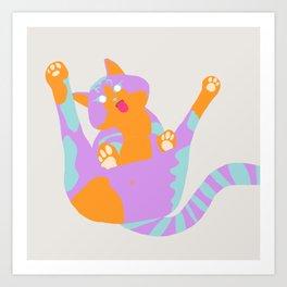 Blep Boop Meow Art Print