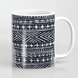 Mudcloth X and Cross Coffee Mug