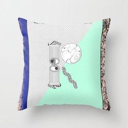 """R"" of DREAMS Throw Pillow"