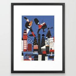 City Sound Framed Art Print