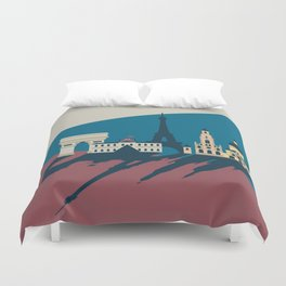 Paris - Cities collection  Duvet Cover