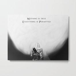 Altaïr Metal Print
