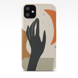 Abstract Art Hand iPhone Case