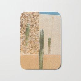 Abstract Cactus Bath Mat