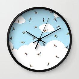 SkyDivers! Wall Clock