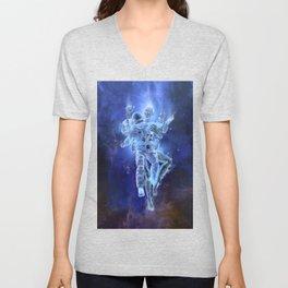 Deep Space Embrace Unisex V-Neck