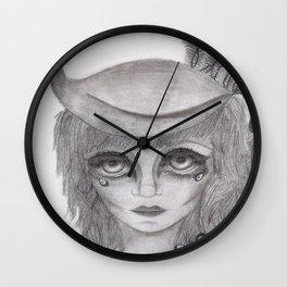 Peacock Chick Wall Clock