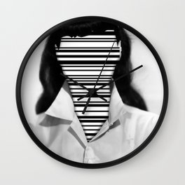 Barcode Collage #1 Wall Clock