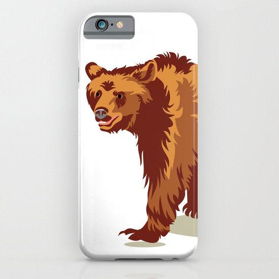 Wild bear iPhone & iPod Case