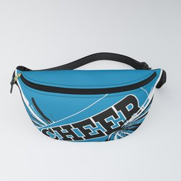 Blue Cheerleader Fanny Pack