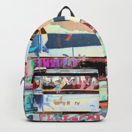 Video Tapes Abstract Backpack