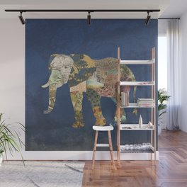 Elephant - The Memories of an Elephant Wall Mural