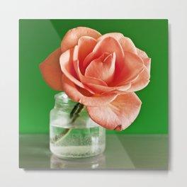 Pop Rose Metal Print