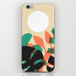 Jungle Sun #1 iPhone Skin