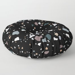 Black Liquorice Floor Pillow