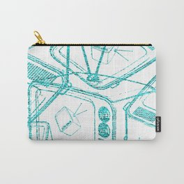 TELEVISION Carry-All Pouch