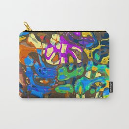 Abstract Mash Up Carry-All Pouch
