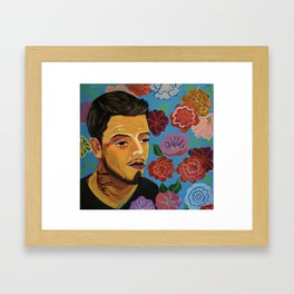 Lulu Framed Art Print