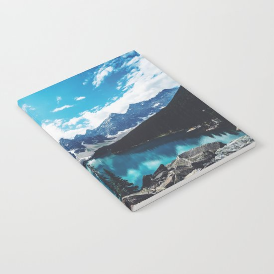 Lake Moraine Notebook