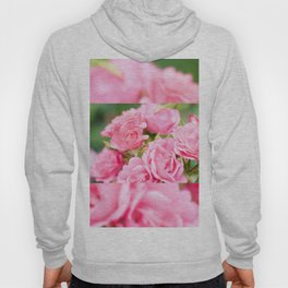 Beautiful pink roses bunch Hoody