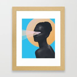 light vision Framed Art Print