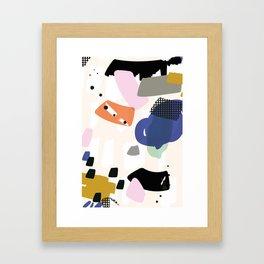 Towards the bottom Framed Art Print