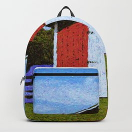 Red Barn Backpack