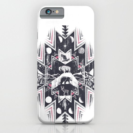 Phases (Light) iPhone & iPod Case