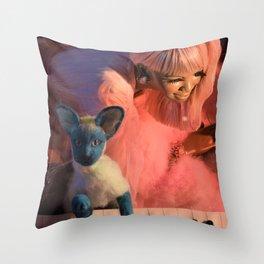 Slumber Party Throw Pillow