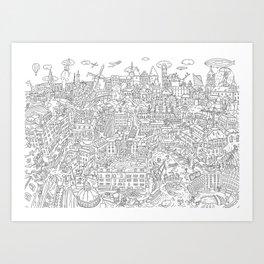 My unoriginal EU Art Print