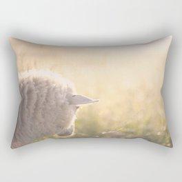 Good morning world Rectangular Pillow
