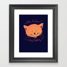 I'm Happy Framed Art Print