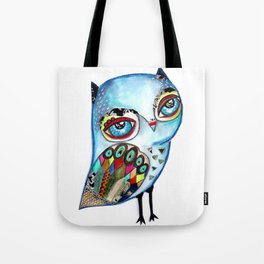 Owl - keep calm and be wise! Tote Bag