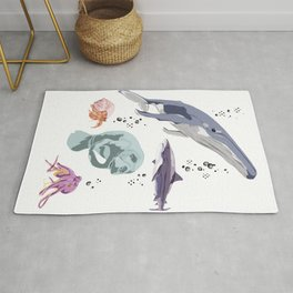Sea Creatures Rug