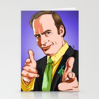 better call saul Stationery Cards featuring Better Call Saul by Ryan Ketley
