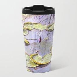 Reflection, watercolor Metal Travel Mug