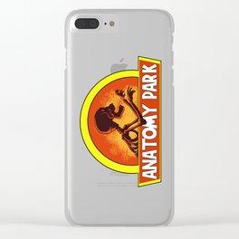 Anatomy park Clear iPhone Case